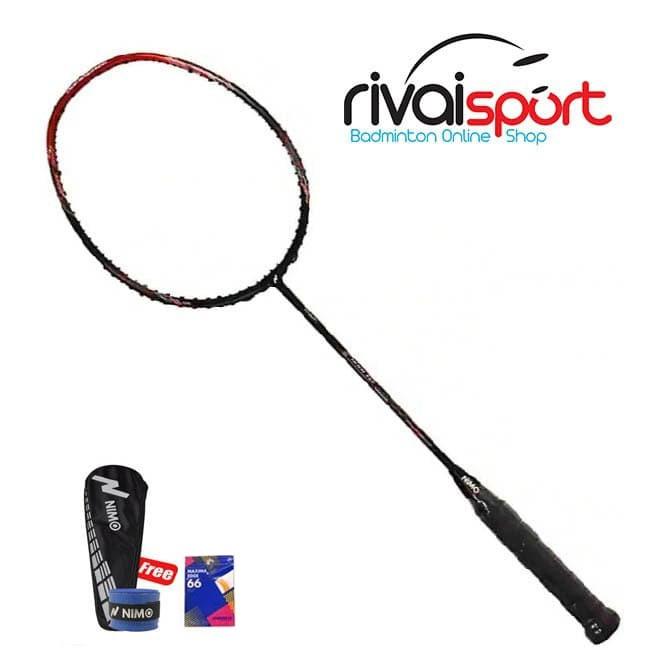 Raket Badminton Nimo IKON 200 - BLACK