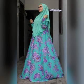 Gamis Syari Set Khimar Grosir Surabaya Shopee Indonesia