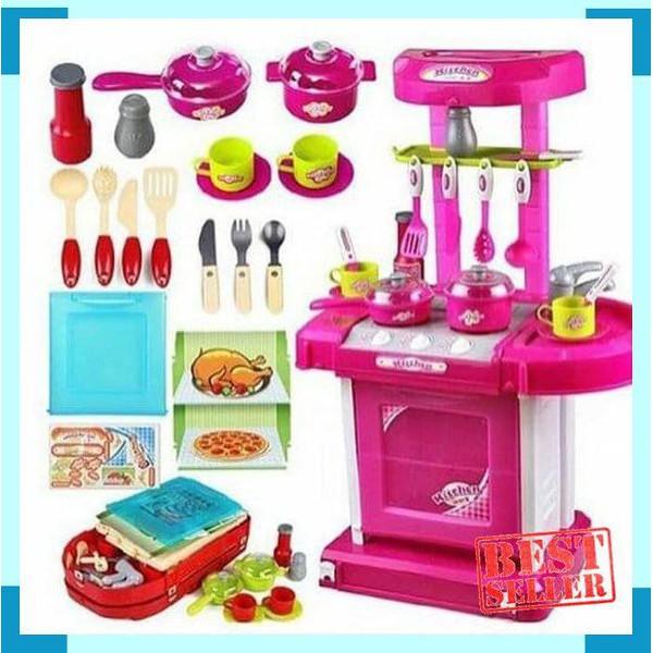 Mainan Edukatif Kitchen Set Anak Keren Shopee Indonesia