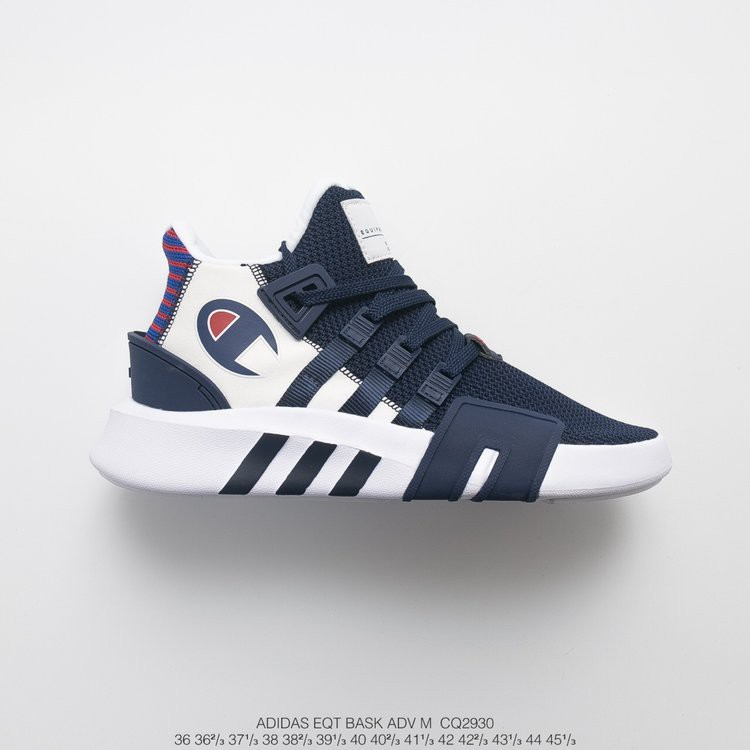 Vientre taiko diseñador Lechuguilla  Running shoes design adidas EQT bask ADV X Champion color dark blue size  36-45 | Shopee Indonesia