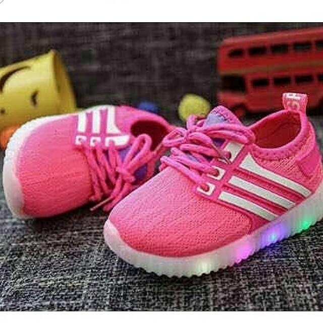 Jual SEPATU ANAK SKECHERS LED 27 31 28, Merah Muda Kota Surabaya heybaby store | Tokopedia