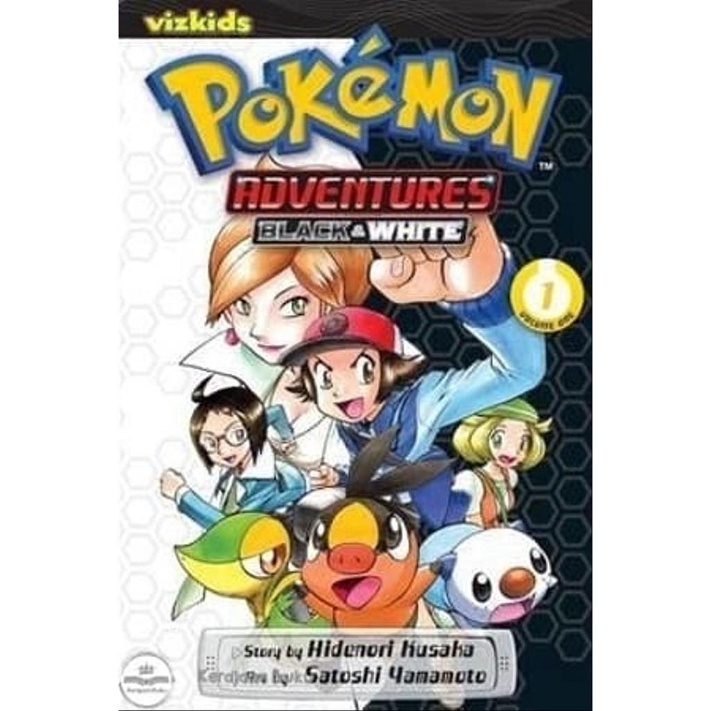 Jual Pokemon Adventures Black And White Vol 1 Murah Shopee Indonesia