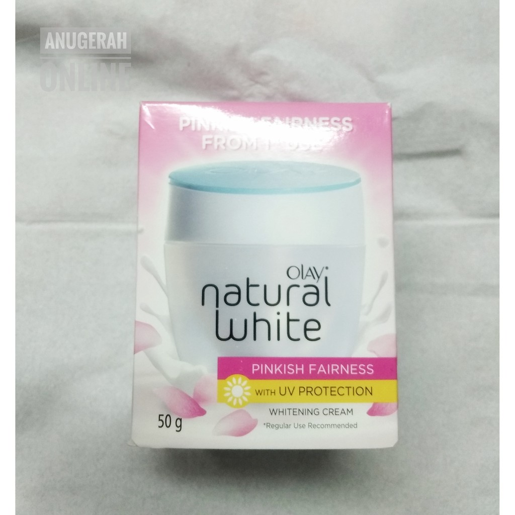 Olay Natural White Light All In One Fairness Day Cream 40gr Pg Ertos Nigt Pemutih Wajah Kpw 146 Shopee Indonesia