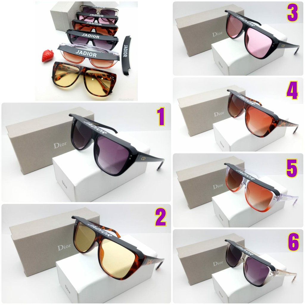 Kacamata Fashion Sunglasses Wanita Cewek Dior 84 Super  5d9e193898