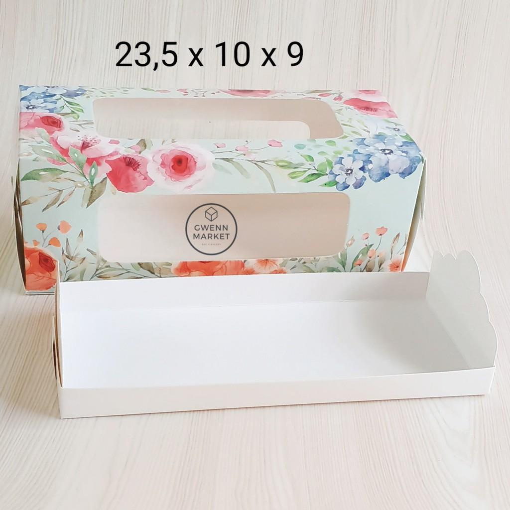 Dus kue per 5pcs kotak kue kotak brownies cake box kue ...