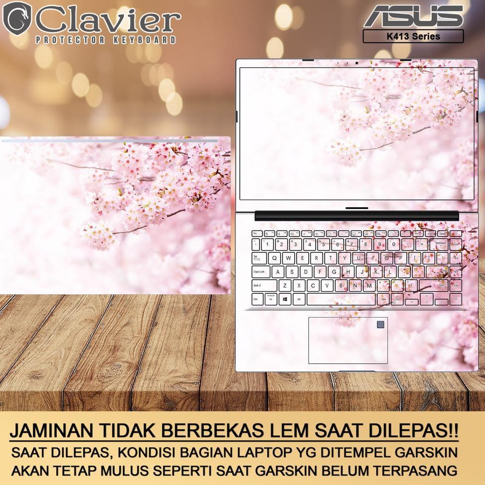 [ART. 68768] Cover Garskin Laptop Asus VivoBook 14 K413 K413E K413EA K413EQ Bening Transparan Gambar