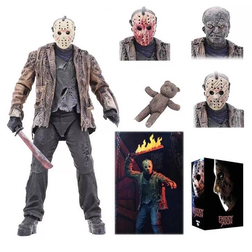 Freddy Vs Jason 18 Cm Jason Voorhees Ultimate Action Figure en stock