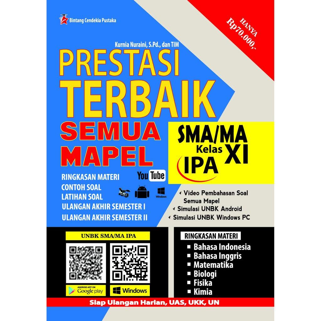 Buku Prestasi Terbaik Semua Mapel Sma Ma Kelas Xi Kelas 11 Ipa Bintang Cendekia Pustaka Shopee Indonesia