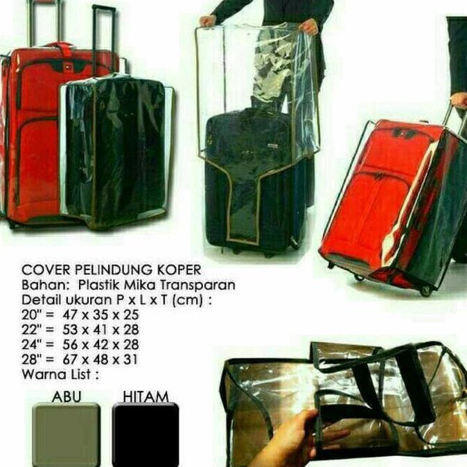 Murah Cover Pelindung Tas Koper Luggage Ukuran 28 Inch ,,,.   Shopee Indonesia