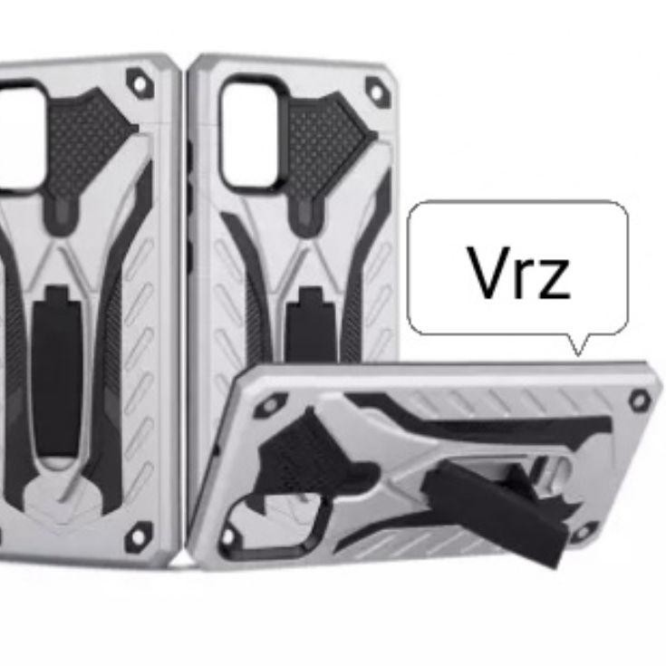 Hot!! Vivo Y12S Y12 S 2020 Hard Case Phantom Robot Transformer Casing Soft Cover Leather Standing Hy