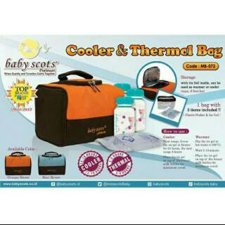 Baby Scots Cooler and Thermal Bag MB-072