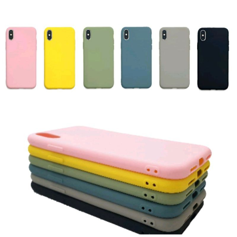 Six Candy Case Iphone 6 Plus Premium SoftCase Warna Polos