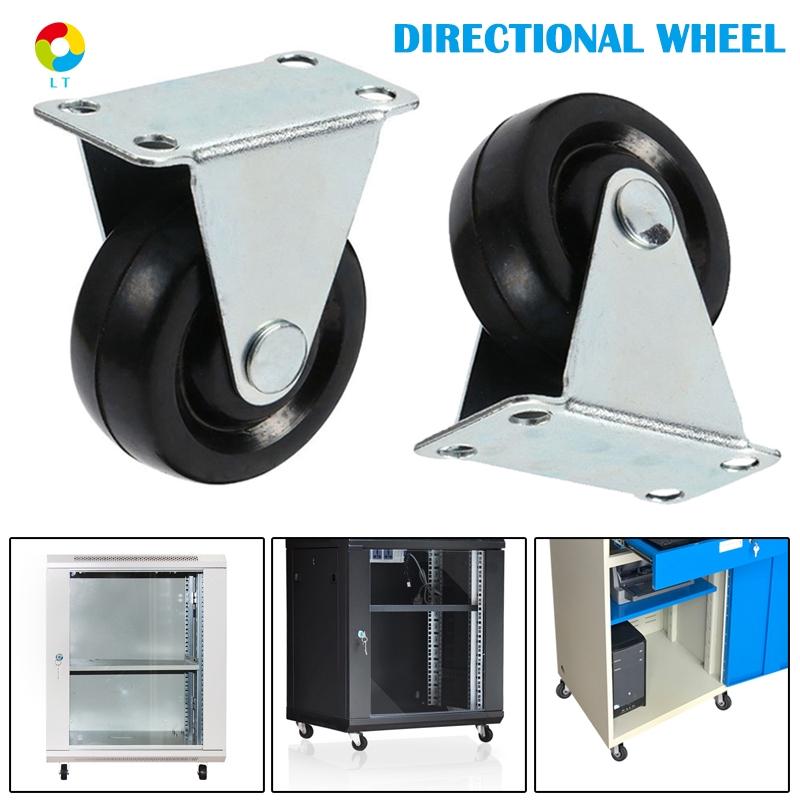 """1.5/"""" Heavy Duty Swivel Castor Wheels Trolley Furniture Caster Rubber Base"""