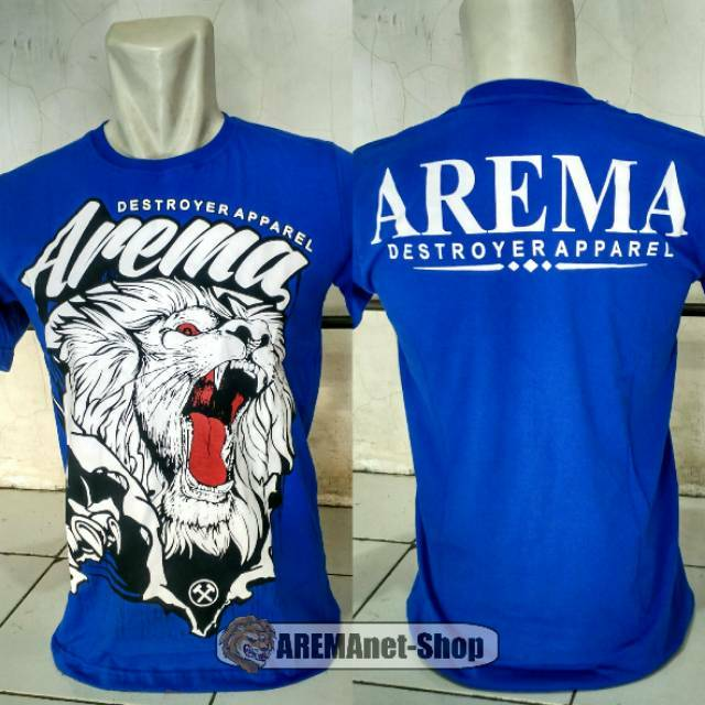 Baju Kaos Arema Fc Suporter Aremania Mbois Keren Shopee Indonesia