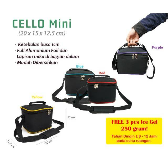 PAKET COOLER BAG ASI - STARTER KIT GABAG 4 IN 1 | Shopee Indonesia