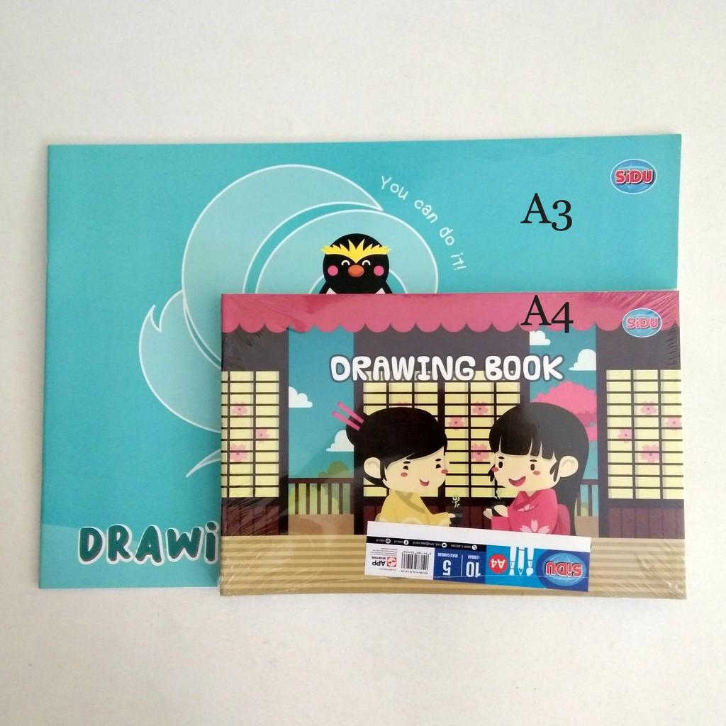 Buku Gambar Sidu A3 Buku Gambar A3 Drawing Book A3 Buku Gambar Besar Shopee Indonesia
