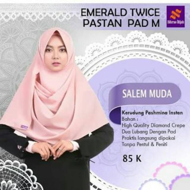 Hijab Instan Murah Jilbab Segi Empat Ekonomis Diamond Crepe Nibras