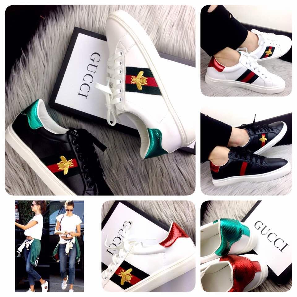 f73d1bb4cc1 sepatu GUCCI Ace Embroidered