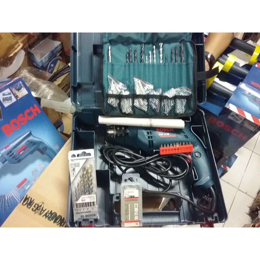 Mesin Bor Beton Bosch Gbh 2 26 Dre Rotary Hammer Gbh2 Bobok Mollar 3 Fungsi Sds Plus Hd 826 Shopee Indonesia