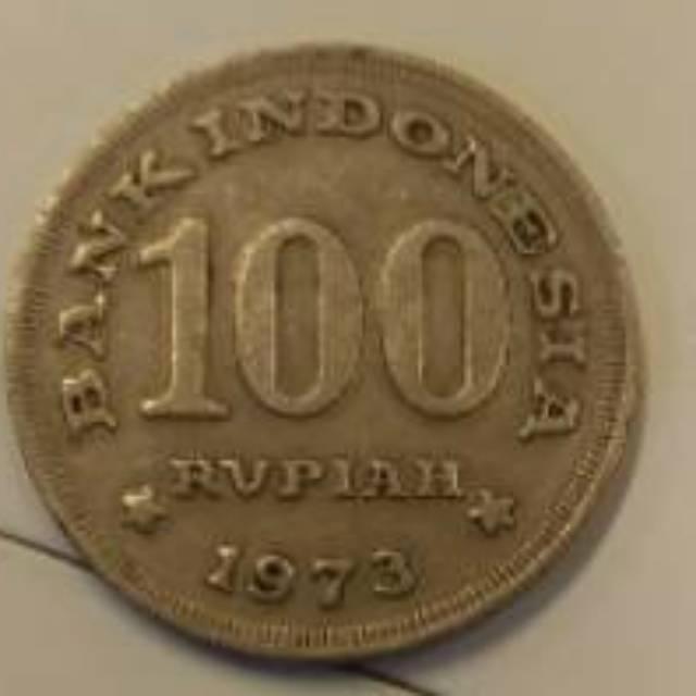 Gambar Uang Koin 100 China Uang Koin Kuno Indonesia Logam Tebal 100 Rupiah Tahun 1973