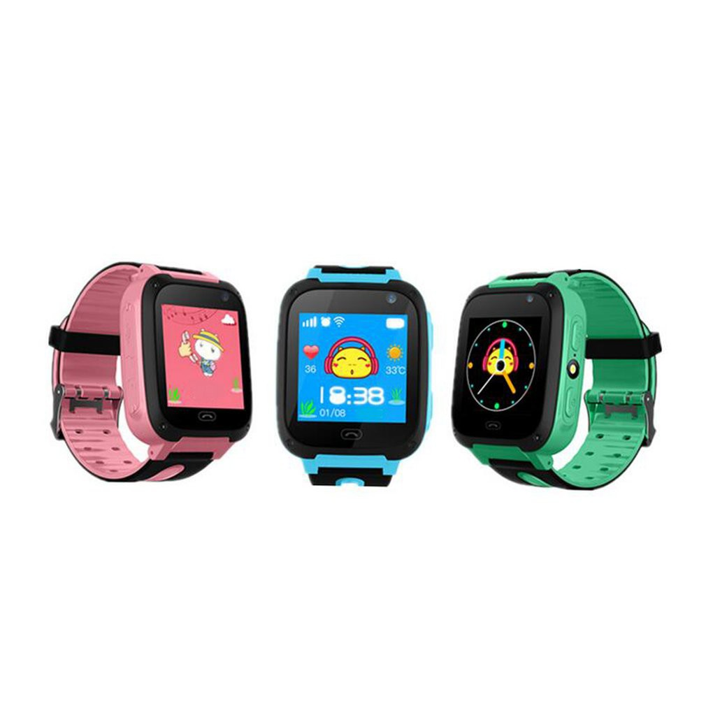 Smart Watch Anak Anak Bluetooth Dengan Gps Telepon Darurat Tracker