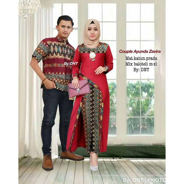 Grosir Dresscouple Batik Mutia Maron5 - Harga Terkini dan Terlengkap c7b1871129