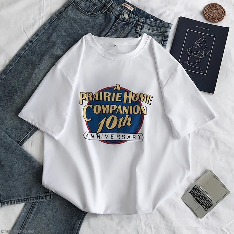 Kaos T Shirt Wanita Lengan Pendek Model Longgar Motif Print Kartun Bunga Mawar Hijau Putih Shopee Indonesia