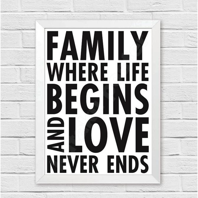 Hiasan Dinding Kata Bijak Motivasi Untuk Rumah Dan Keluarga