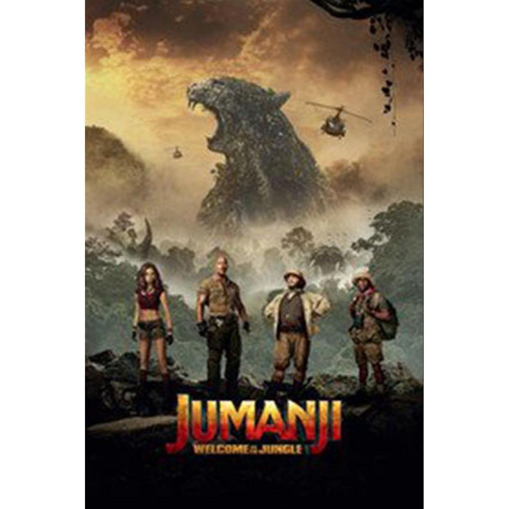 Promo Film Dvd Jumanji Welcome To The Jungle 2017 Murah Shopee Indonesia