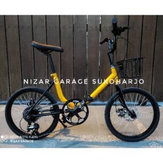 Sepeda Minion 20 Frame Japan Dan Phoenix 7 Speed Tinggal Pakai Murah Bisa Request Warna Shopee Indonesia