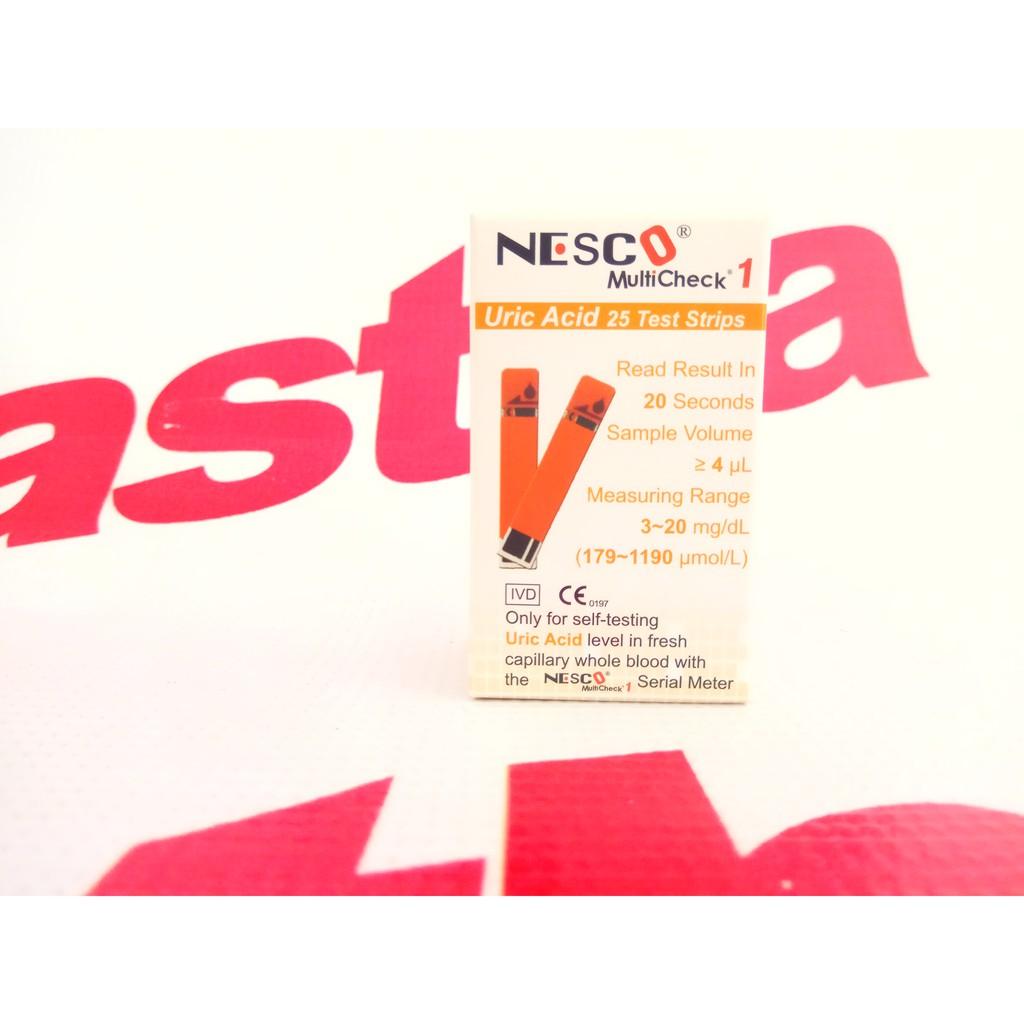 Refill Isi Ulang Strip Stik Hemoglobin Hb Anemia Easy Touch Nesco Glucose Test Cek Gula Darah 25 Stick Easytouch Shopee Indonesia