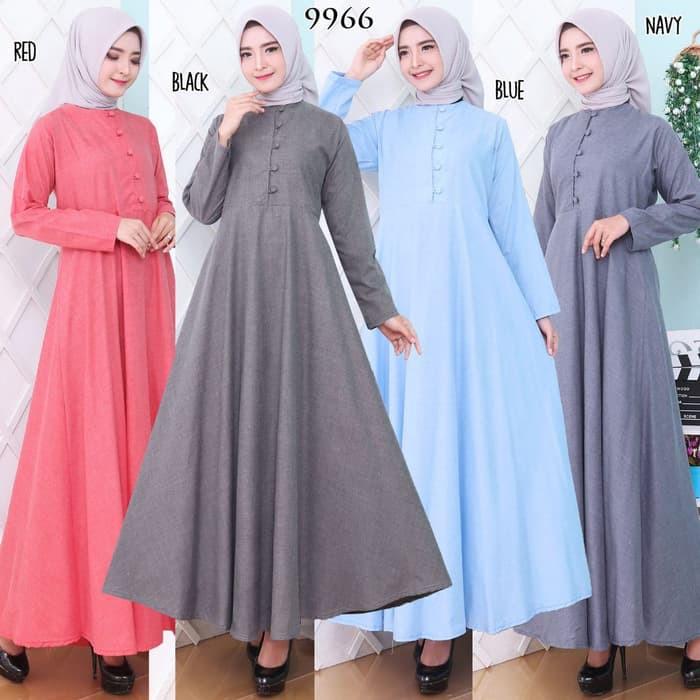 Baju Gamis Syari Jumbo Gamis Lebaran Terbaru 2020 Gamis Wanita Ms890 Baju Gamis Wanita Terbaru Gam Shopee Indonesia