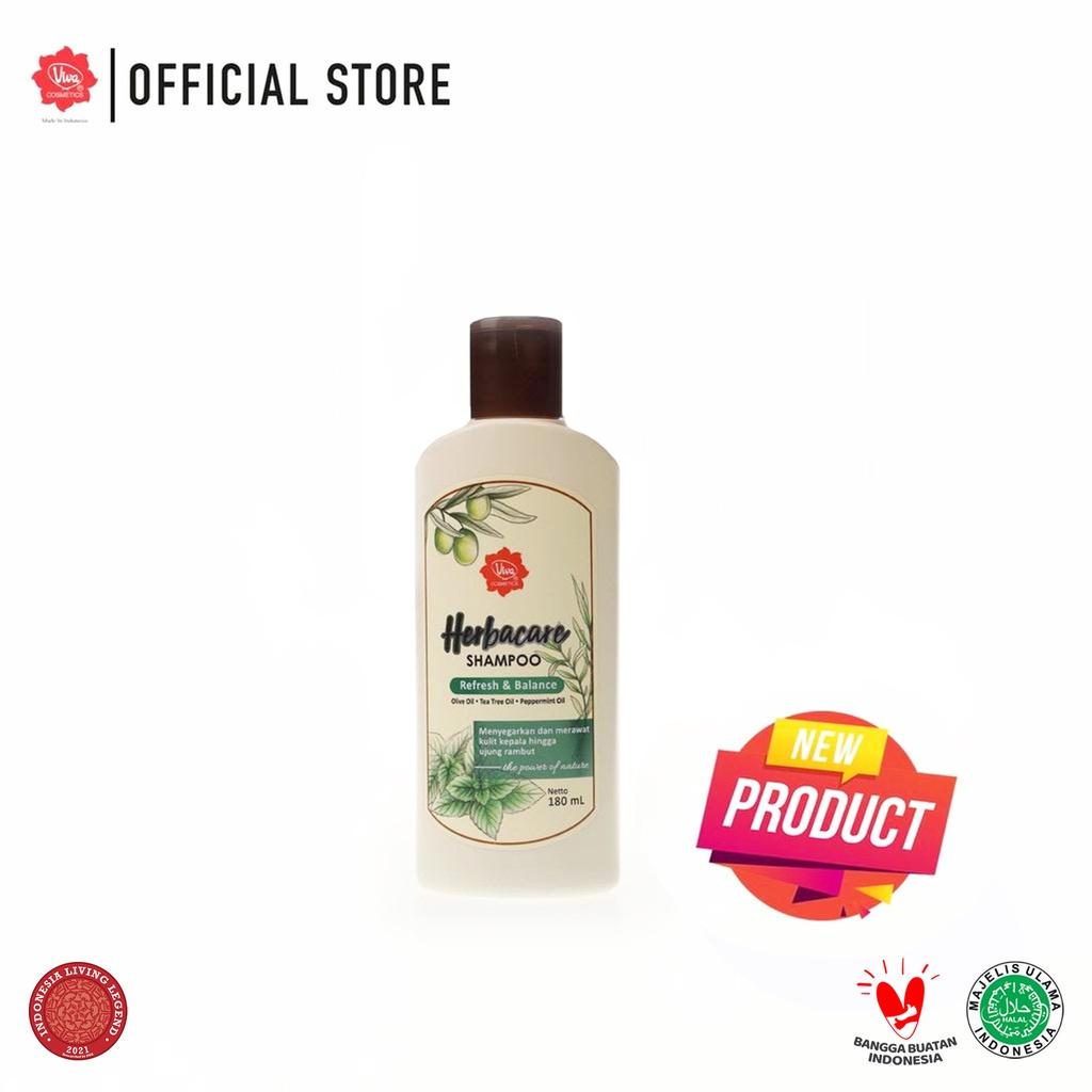 Viva Herbacare Shampoo - 180ml (tersedia 3 variant)