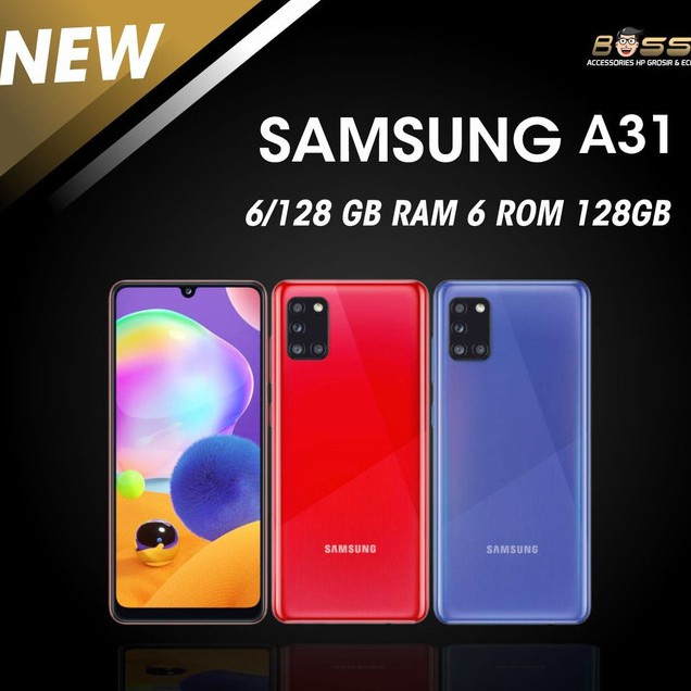 Hp Promo Cuci Gudang Hp        HP SAMSUNG GALAXY A31 8/128 RAM 8GB ROM 128GB GARANSI RESMI