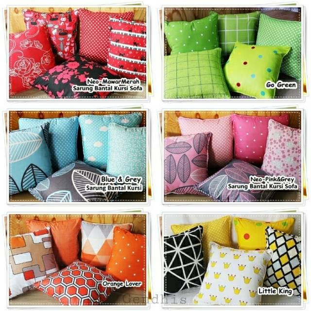 Sarung bantal sofa shabby / sbk set / sarung bantal kursi shabby Florentina Coklat | Shopee Indonesia