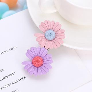 Girls Daisy Flower Hairclips Kids Accessories Hair Clip Toddler