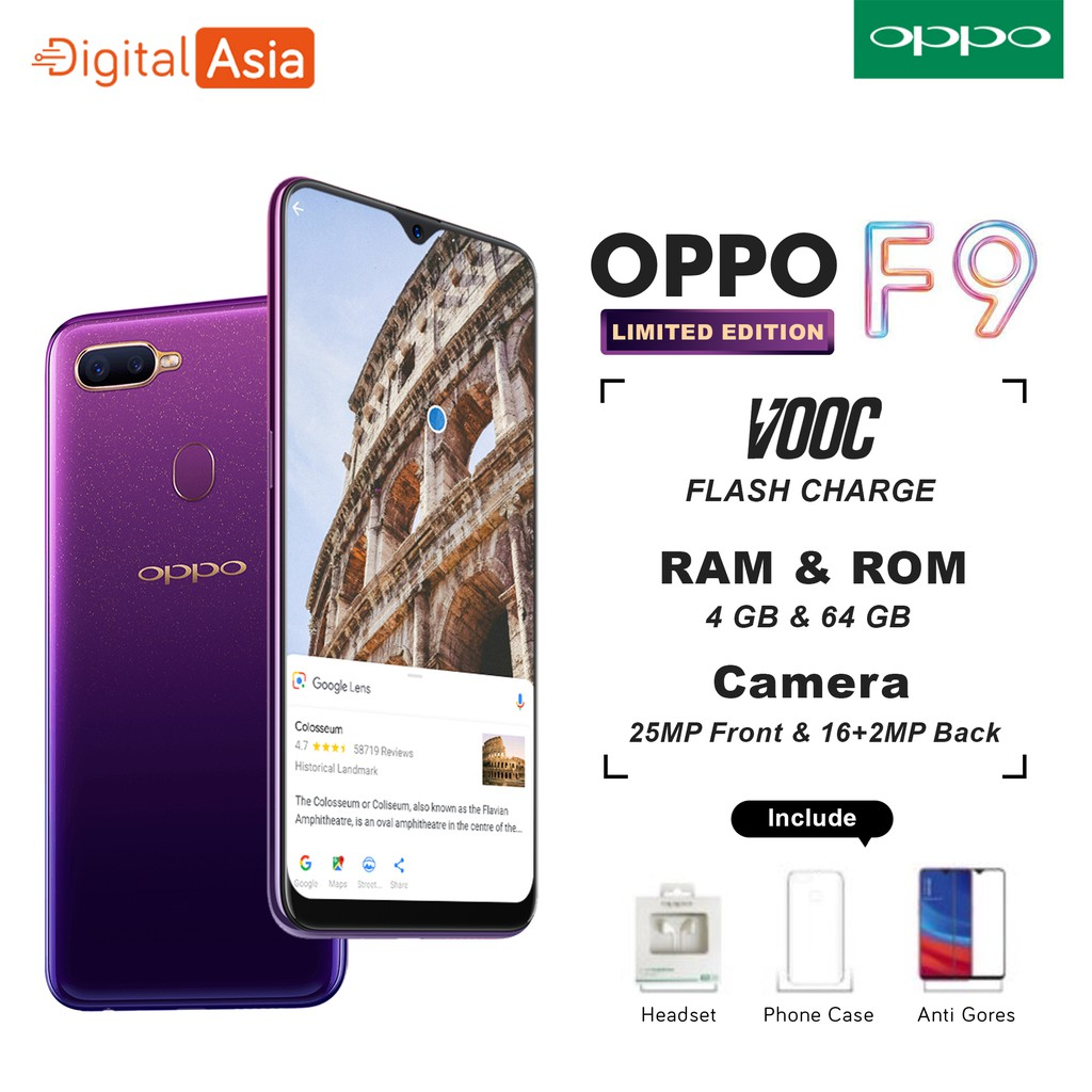 OPPO A83 GOLD READY STOCK Smartphone 2GB/16GB 8MP Front Camera 13MP Rear Camera Android 7.1 Nougat | Shopee Indonesia