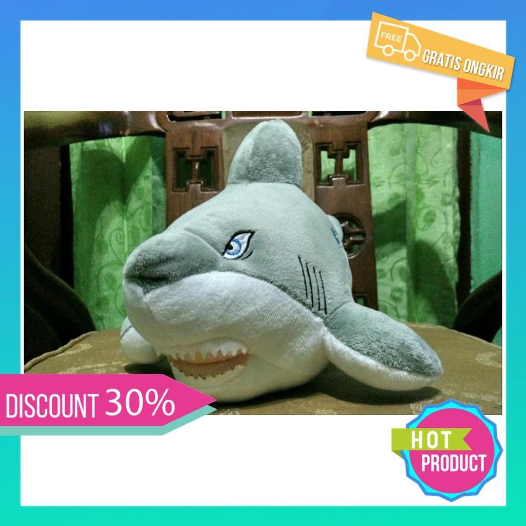 Laris Boneka Shark Ikan Hiu Lucuu Berkualitas