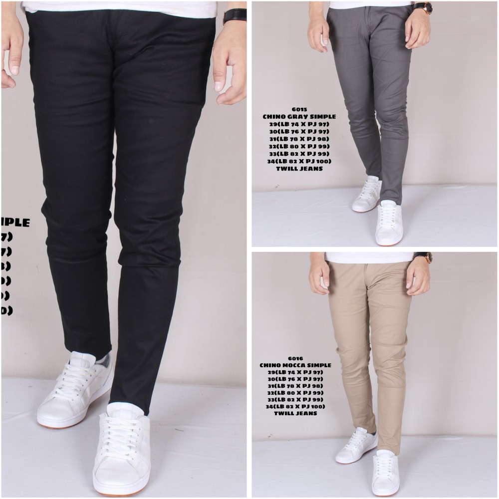 Zoeystore 5360 Celana Jeans Panjang Pria Exclusive Celana Jeans Skinny Cowok Washing BlueSky | Shopee Indonesia