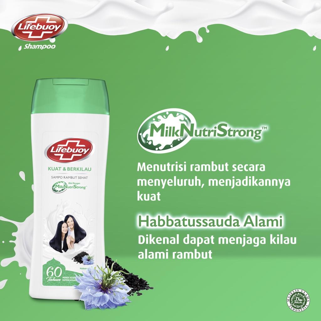 Lifebuoy Shampoo Strong And Shiny 680 Ml - Perawatan Rambut Berkilau-6