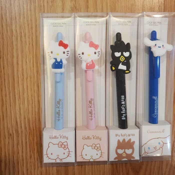 NEW Hello Kitty Sanrio Badtz-Maru 40 Mini Stickers in Case NEW