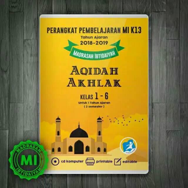 Rpp K13 Cd Perangkat Pembelajaran Sd Mi Mapel Aqidah Akhlak Kelas 1 6 Shopee Indonesia