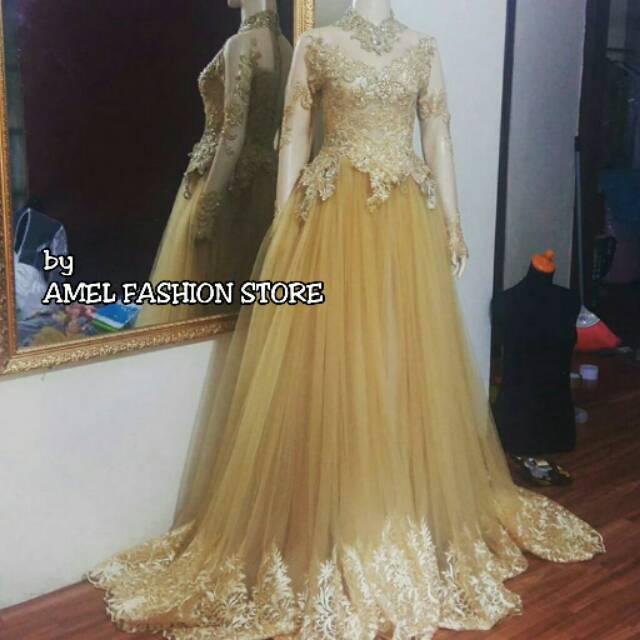 Gaun Pengantin Gown Prewedding Gaun Bridal Kebaya Akad Nikah Kebaya Pengantin Gaun Kebaya