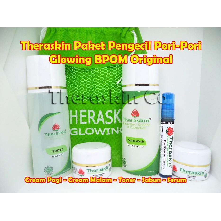 Theraskin Paket Glowing Krim Busui Bumil Cream Malam Htmh 005 Racikan Dokter Bupromil Asli Bpom Shopee Indonesia