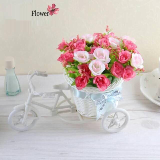 Busa  media tanaman sintetik bunga plastik  e0709aaaed