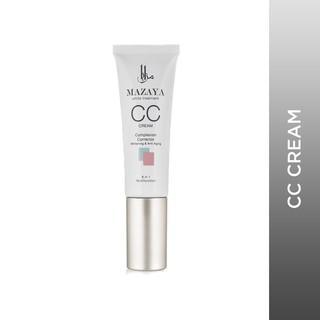 [CUCI GUDANG] Mazaya CC Cream Complexion Corrector Whitening & Anti Aging 25gr - Magic Color thumbnail