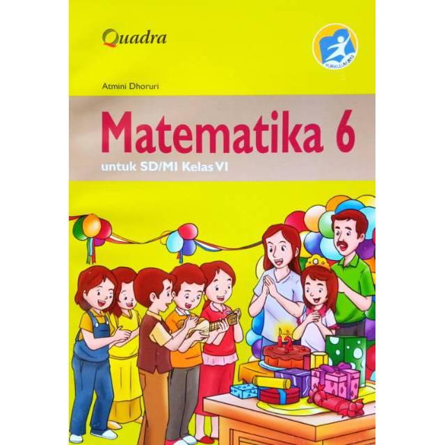 Buku Matematika Kelas 6 Sd Mi Kurikulum 2013 Penerbit Quadra Shopee Indonesia
