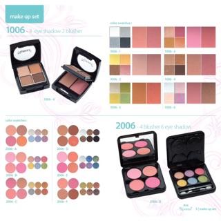 Eyeshadow - Pemulas Mata dan Blushon - Pemulas Pipi NONNA ORIGINAL 2