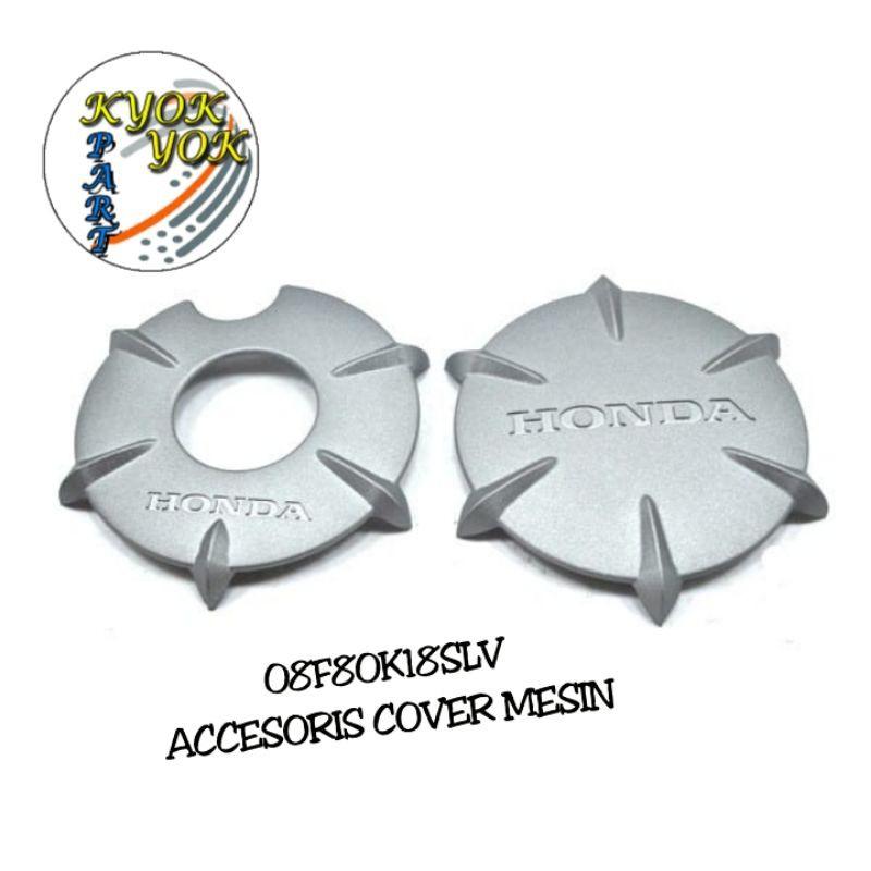Cover Engine Set Silver CB150 Verza & Verza 150