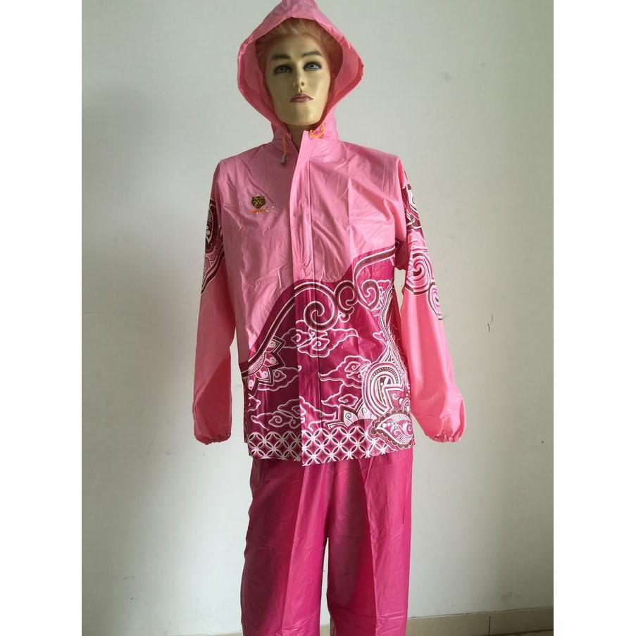 Toko Online Virgstore Shopee Indonesia Rain City 69132 Jas Hujan Setelan Batik Sekar Stelan Jaket Motor Karet